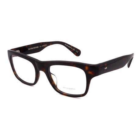 Oliver Peoples // Unisex OV5432U-1009 Rectangular Optical Frames // Black