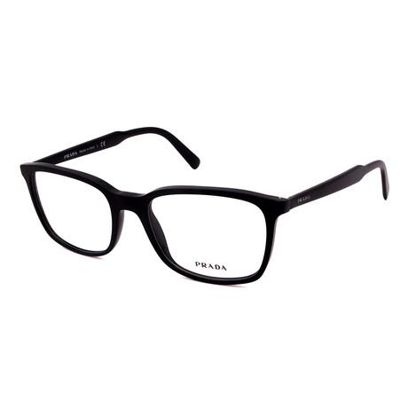 Prada // Men's PR13XV-1AB1O1 Square Optical Frames // Black