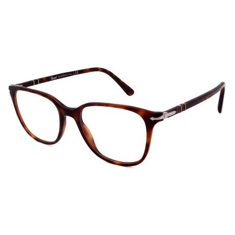 Persol // Men's PO3203V-24 Square Optical Frames // Black