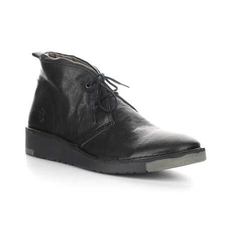 SION973FLY Lace Up Boot // Black (EU Size 41)
