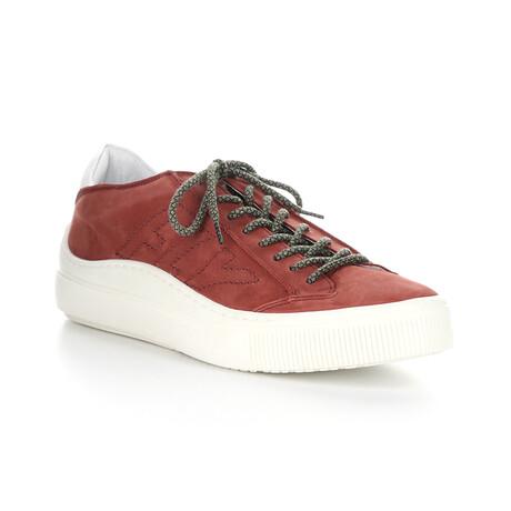 SEPA355FLY Sneaker // Bordeaux + Off White (EU Size 43)