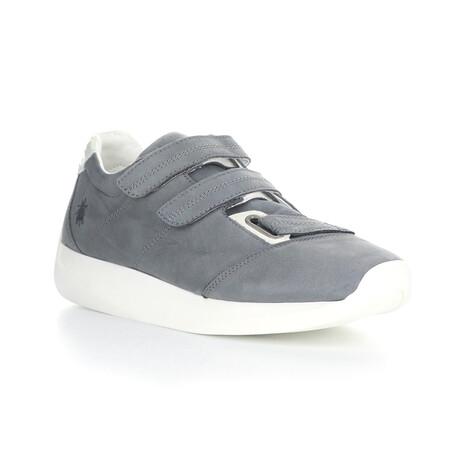 LECK732FLY Velcro Sneaker // Blue Gray + Off White (EU Size 40)