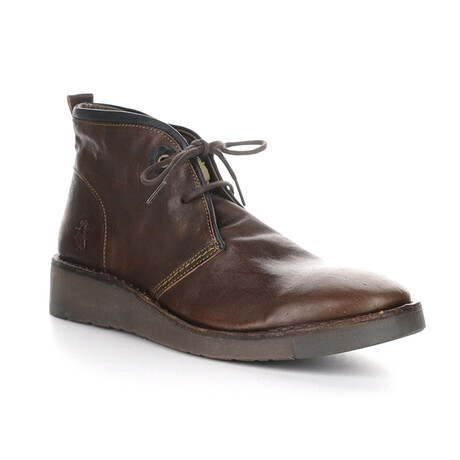SION973FLY Lace Up Boot // Brown (EU Size 43)