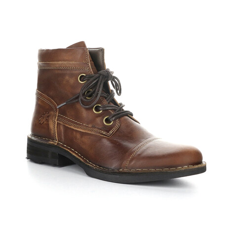 RIZE976FLY Lace Up Boot // Tan (EU Size 40)