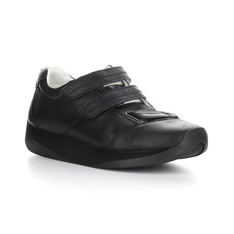 LECK732FLY Velcro Sneaker // Black (EU Size 41)