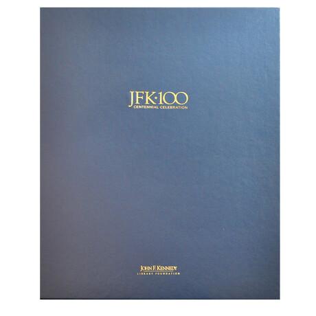 JFK Centennial Box Set of 4 Iconic Signed Photographs // Artist Proof