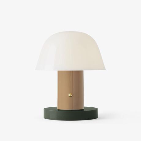 Setago Portable LED Lamp // Nude + Forest