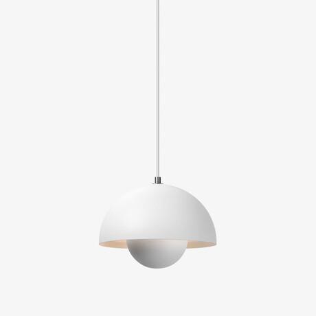 Flowerpot Pendant Lamp // Matte White
