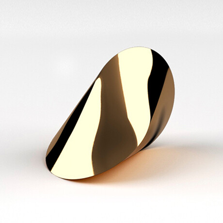 The Oloid (Brushed Brass)