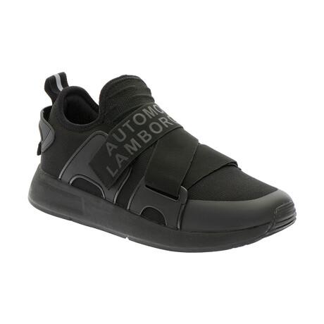 Massimo Cross Band Sneakers // Black (Euro: 40)