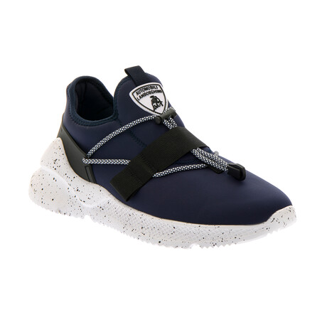 Ernesto Pull-On Trainers // Navy (Euro: 40)