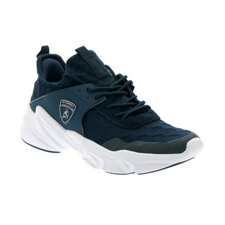 Sebastiano Athletic Sneakers // Blue (Euro: 40)