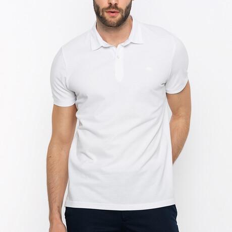 Amsterdam Short Sleeve Polo Shirt // White (S)