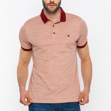 Arthur Short Sleeve Polo Shirt // Orange (S)