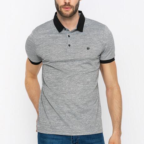 Oscar Short Sleeve Polo Shirt // Gray (S)