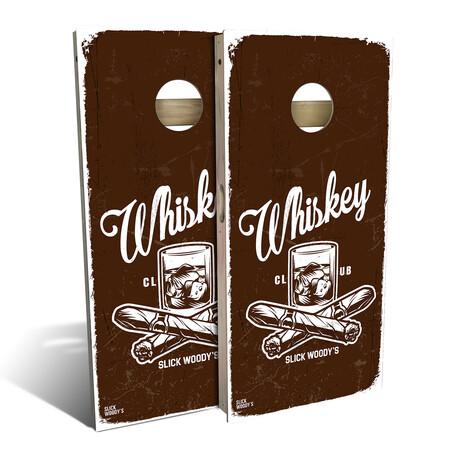 Whiskey Club // Cornhole Board Set