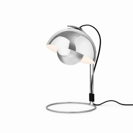 Flowerpot Pendant Table Lamp // Stainless Steel