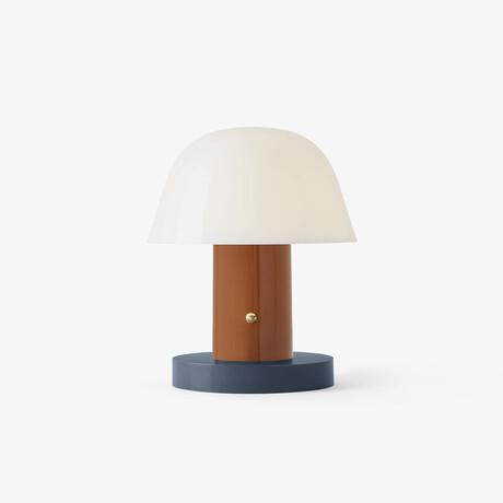 Setago Portable LED Lamp // Rust + Thunder
