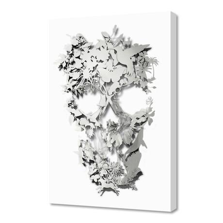 """Simple Skull (12""""H x 8""""W x 0.75""""D)"""