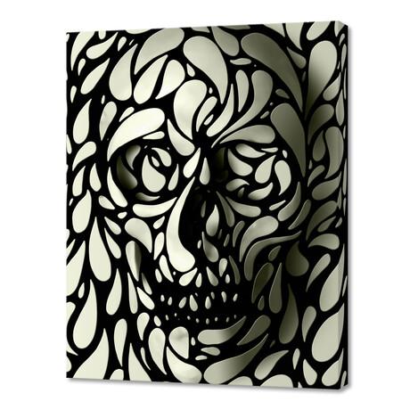 """Skull 4 (10""""H x 8""""W x 0.75""""D)"""