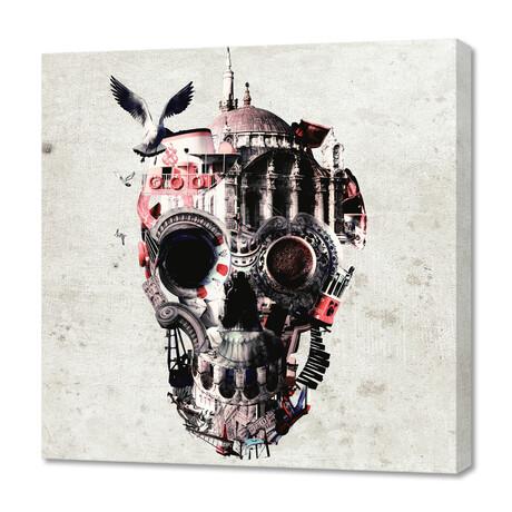 """Istanbul Skull (12""""H x 12""""W x 0.75""""D)"""