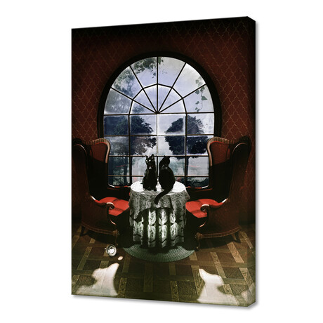 "Room Skull (12""H x 8""W x 0.75""D)"