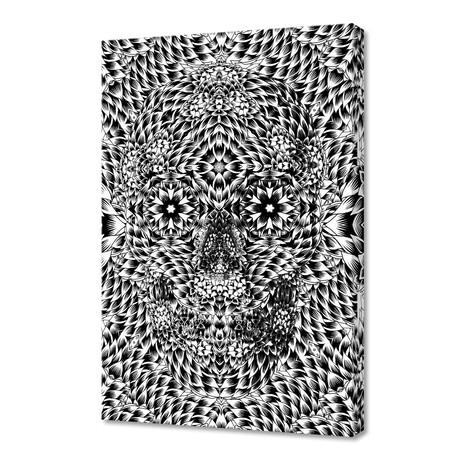 "Skull VII (12""H x 8""W x 0.75""D)"