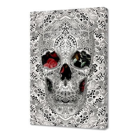 """Lace Skull // Light (12""""H x 8""""W x 0.75""""D)"""