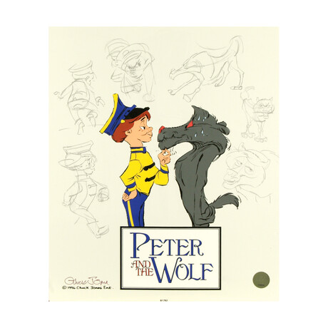 Peter and the Wolf: Character Sketches