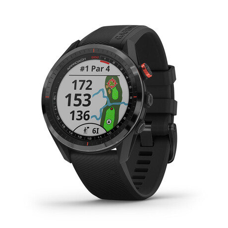 Approach S62 // Golf Watch // Black // 010-02200-00