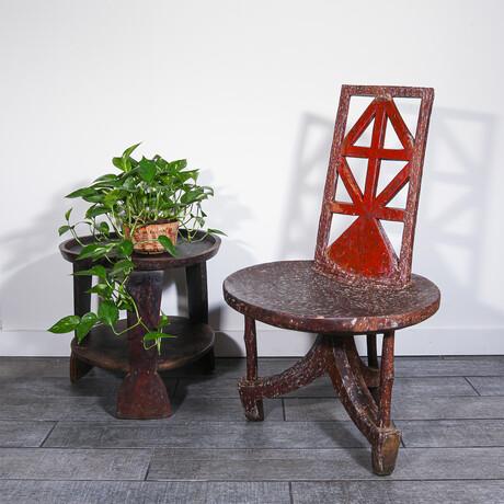 Antique Welega Chair // Ethiopia // v.2