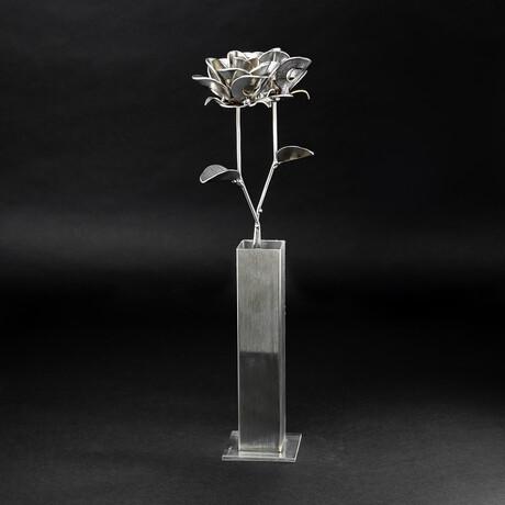 Original Steel Immortal Rose // 2 Roses (2 Roses)
