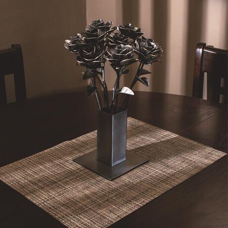 Original Steel Immortal Rose // 12 Roses