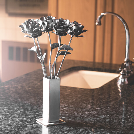 Original Steel Immortal Rose // 6 Roses (6 Roses)