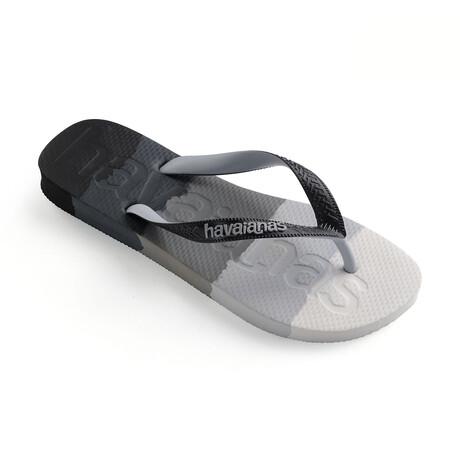 Top Logomania Multicolor Sandal // Gradient Black (US: 8)