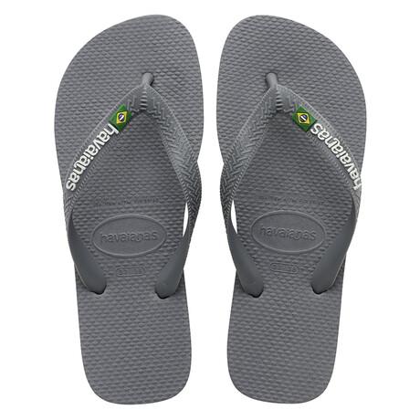 Brazil Logo Sandal // Steel Gray (US: 8)