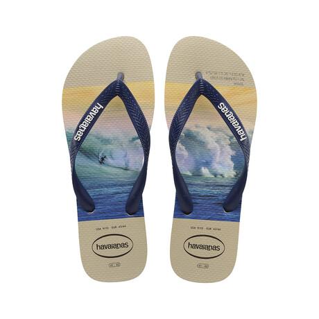 Hype Sandal // Sand Gray + Navy Blue (US: 8)