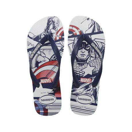 Top Marvel Sandal // Navy Blue + Turquoise (US: 8)