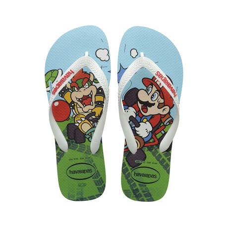 Mario Bros Sandal // White (US: 8)