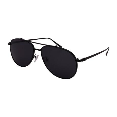 Unisex SF201S-002 Aviator Sunglasses // Matte Black