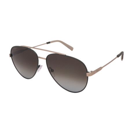 Unisex SF204S-307 Aviator Sunglasses // Forest Green