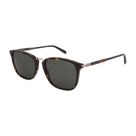Unisex SF910SP-214 Square Polarized Sunglasses // Tortoise