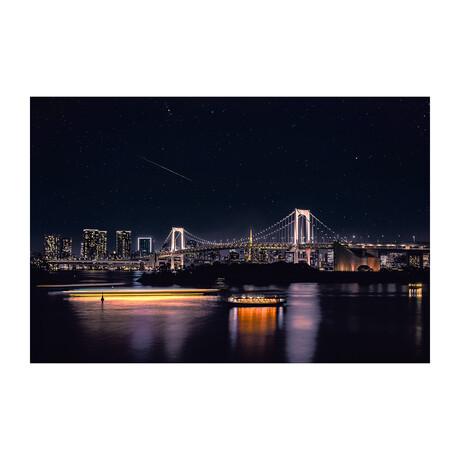 RAINBOW BRIDGE TOKYO (Black Frame)