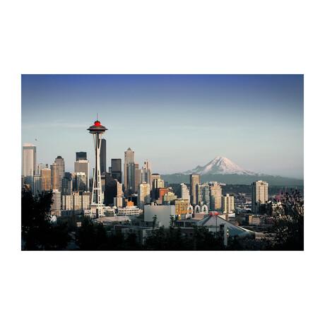 SEATTLE LANDSCAPE (Black Frame)