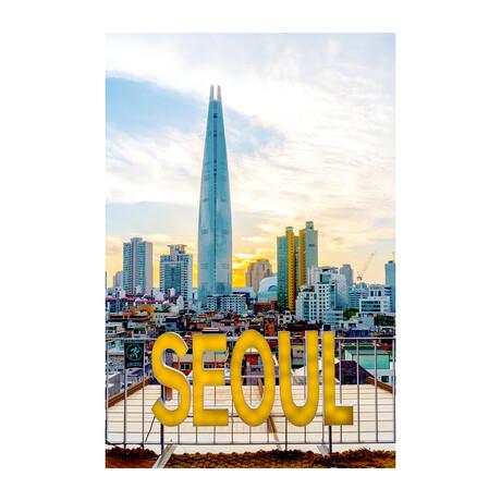 SEOUL SO KOREA (Black Frame)
