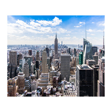 NEW YORK CITY SKYLINE (Black Frame)