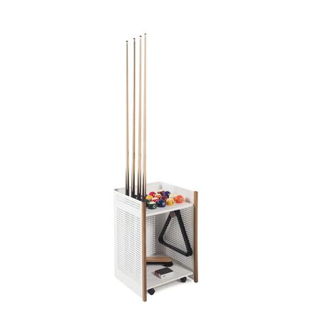 Mou Floor Cue Rack // Outdoor (White)