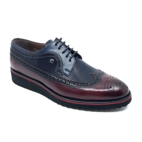 1106 Classic Shoe // Bordeaux + Navy (Euro: 39)