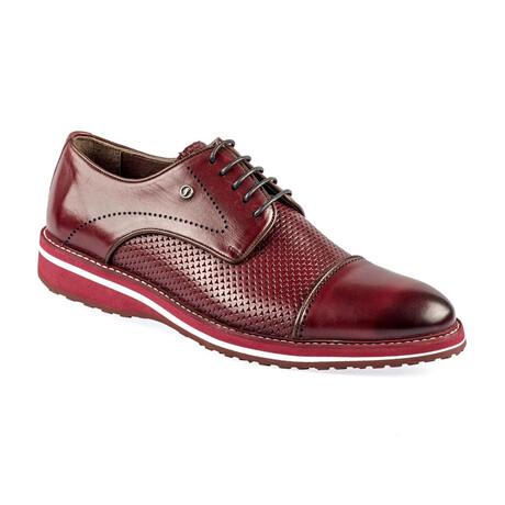 9040 Classic Shoe // Claret Red (Euro: 39)