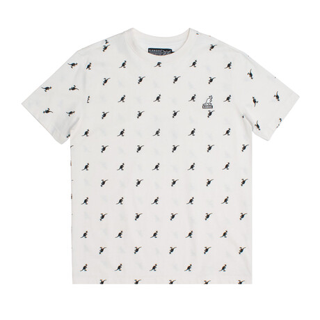 All Over Print Tee // Off-White (S)